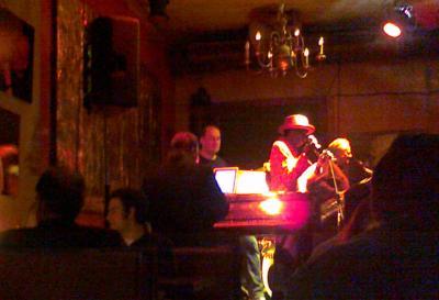 Freddy Strong in Voglers Jazzbar, München