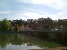 Brücke in Landsberg am Lech