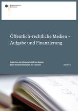 Publikation des Bundesfinanzministeriums